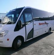 Bus hire Dublin by Mortons Coaches Ltd
