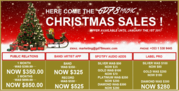 Xmas Sales on our Publishing and Licensing products+services